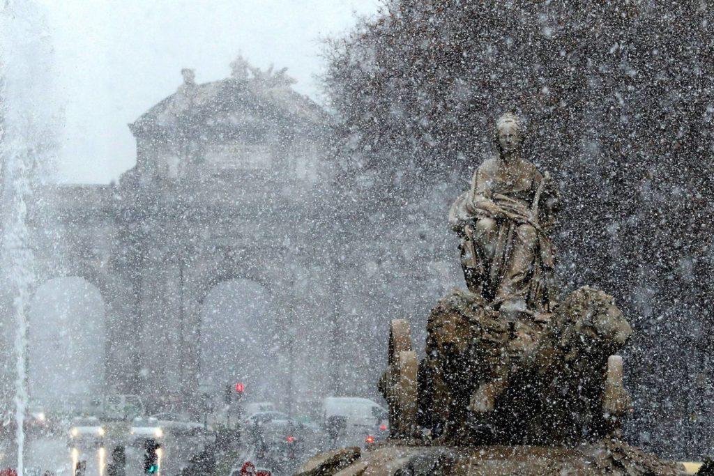 Consejos personas mayores temporal de nieve