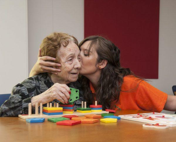 El cariño y las personas mayores