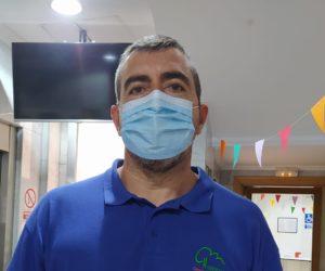 Carlos Riego, personal de mantenimiento de Los Nogales Vista Alegre